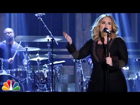 NEW MUSIC: Adele 'Water Under The Bridge' On JimmyFallon.
