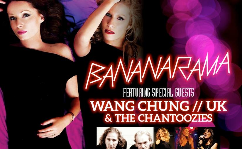 Bananarama, Wang Chung, The Chantoozies & Cutting Crew Live InMelbourne!