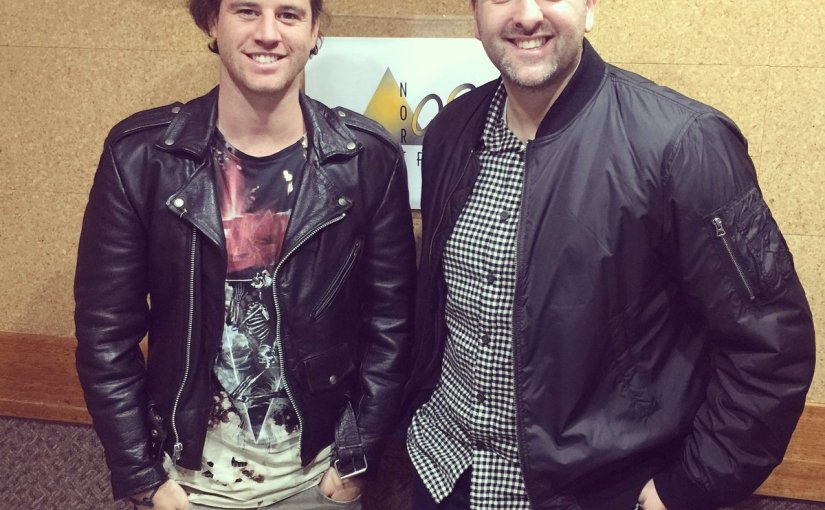 August 3, 2017: #MorningShow989 with special guest BenHazlewood