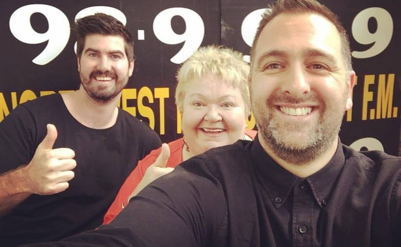 October 12, 2017: #MorningShow989 with special guests MAXO, Maggie Szabo and Sally-AnneUpton