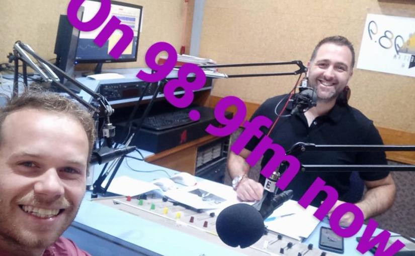 October 19, 2017: #MorningShow989 with special guest Brad Ellis / The HunterExpress