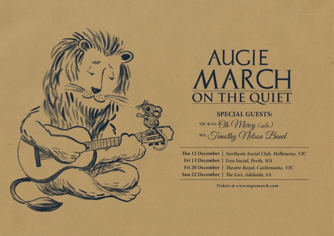 Augie March poster artwork